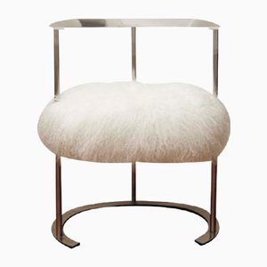 Catiline Stool by Luigi Caccia Dominioni for Azucena, 1958