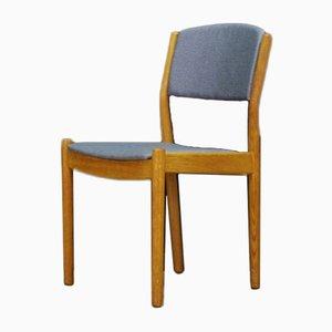 Vintage Eschenholz Esszimmerstühle von Poul Volther für FDB, 1960er, 6er Set
