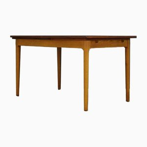 Vintage Danish Teak Dining Table, 1960s