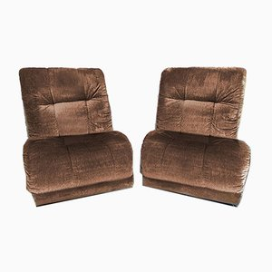 Pace Collection Armchairs by Guido Faleschini for Mariani, 1970s, Set of 2