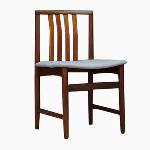 Teak Esszimmerstühle, 1960er, 2er Set