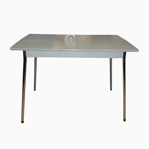 Mid-Century Chrome and Formica Kitchen Table with Drawer