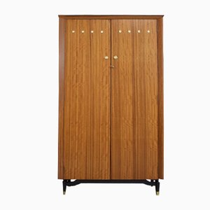 Mid-Century Walnut Wardrobe from CWS, 1960s