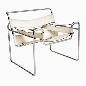 Vintage Wassily Armlehnstuhl von Marcel Breuer für Gavina, 1960er