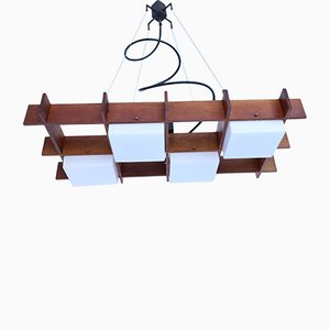 Mid-Century Ceiling Lamp in the Style of Stilnovo