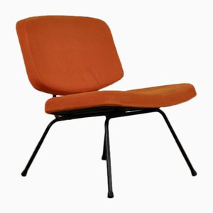 Mid-Century CM Low Chair by Pierre Paulin for Thonet, 1950s