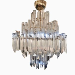 Large Vintage Chandelier by Paolo Venini, 1980s