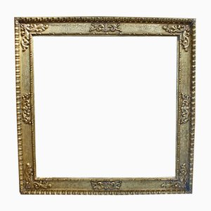 Large Antique Victorian Gesso Gilt Frame