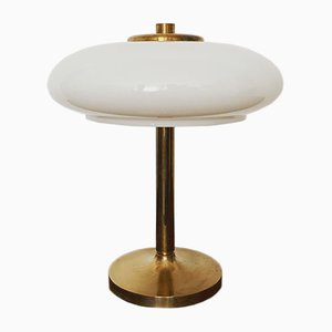 Brass Mushroom Table Lamp, 1960s