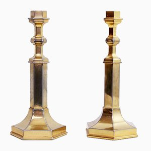 Art Deco Style Candleholders from Nagel, 1970s, Set of 2