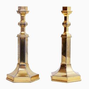Kerzenhalter im Art Deco Stil von Nagel, 1970er, 2er Set