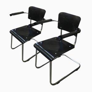 Vintage Bauhaus Stühle von Mart Stam & Marcel Breuer für Drabert, 2er Set
