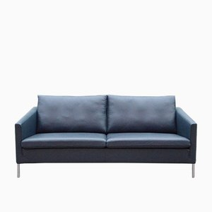 Leather Model Eaton Sofa by Ed Reuter for Walter Knoll / Wilhelm Knoll, 1990s