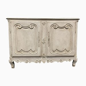 18th Century French Decorated Cherry Buffet, Cupboard or Sideboard