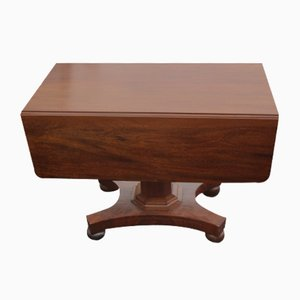 Mahogany Centre Column Table with Drawer, 1910