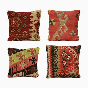 19th Century Kilim Cushions, Set of 4