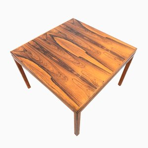 Mid-Century Swedish Rosewood Coffee or Sofa Table from HMB Mobler