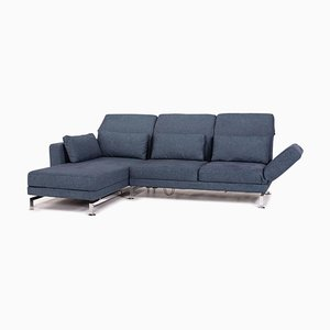 Blue Fabric Moule Relax Function Sofa by Roland Meyer-Brühl for Brühl & Sippold