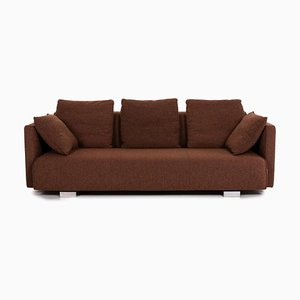 Brown Fabric 6300 3-Seat Sofa from Rolf Benz