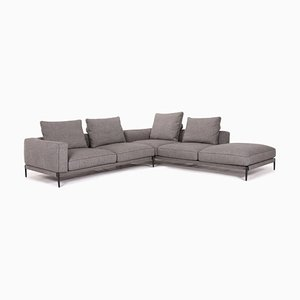 Grey Fabric Romeo Corner Sofa from Flexform