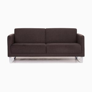 Anthracite Grey Fabric 2-Seat Sofa from Rolf Benz