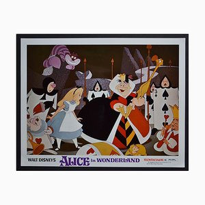 Carte de Vœux Originale Alice in Wonderland de Walt Disney's Movie, USA, 1951
