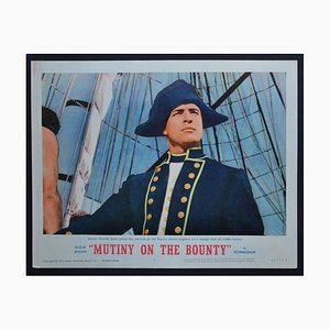 Mutiny on the Bounty Original American Lobby Card of the Movie, USA, 1962