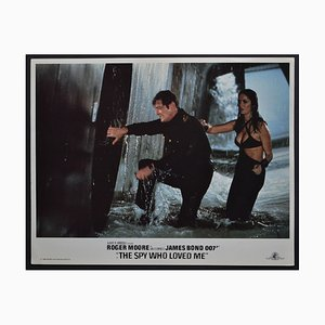 James Bond 007 the Spy Who Loved Me Original Lobby Card, UK, 1977