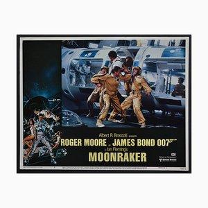 Carte de Visite James Bond 007 Moonraker Original, Royaume-Uni, 1979