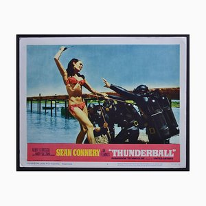 James Bond 007 Thunderball Original Lobby Card, UK, 1965