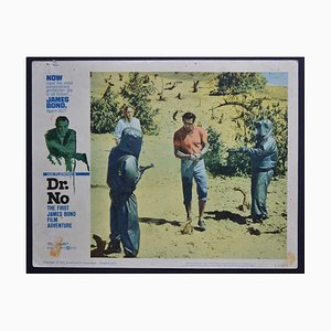 James Bond 007 Dr. No Original Lobby Card, UK, 1962