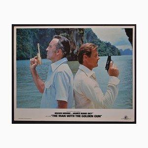 James Bond 007 The Man mit der Golden Gun Original Lobby Card, 1980er