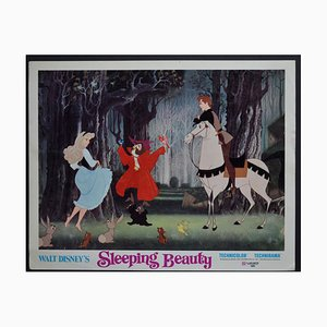 Sleeping Beauty Original American Lobby Card of Walt Disney's Movie, USA, 1959