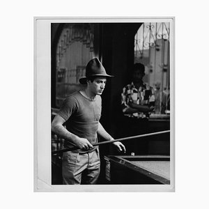 Al Pacino konzentrierte sich auf das Billardspiel, 1970