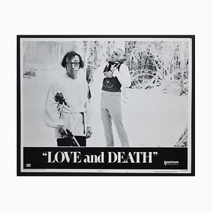 Love and Death Original American Lobby Card of the Movie, USA, 1975