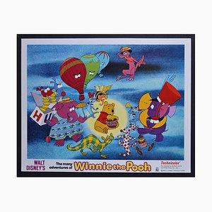 Carte Winnie the Pooh Original Lobby du Film de Walt Disney, USA, 1977