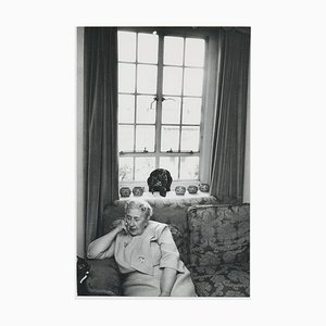 On the Sofa with Agatha Christie, 1960
