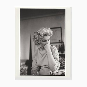 Marilyn Monroe Print of 1988 from Original Negative, 1955
