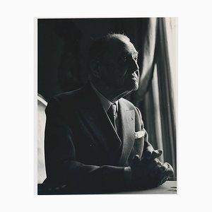 Britischer Dramatiker W. Somerset Maugham, 1959