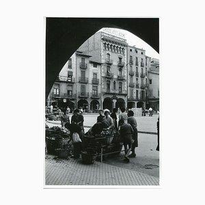 Place de Marché, Vic, Spain, 1955