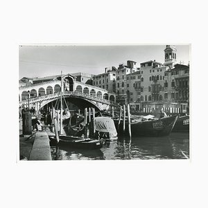 Venice Rialto Bridge, 1954