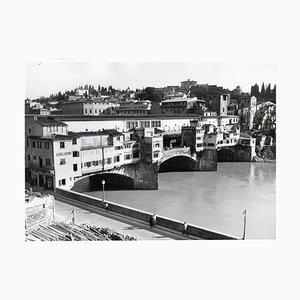 Florence Ponte Vecchio Italy, 1954