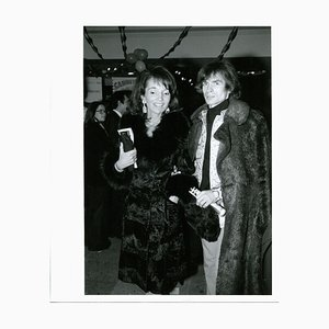Lee Radziwill and Rudolf Khametovich Nureyev, 1974
