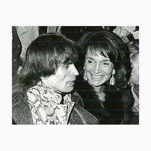 Lee Radziwill and Rudolf Khametovich Noureev, 1974