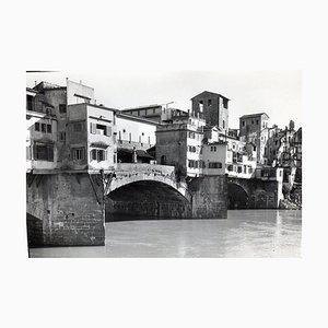 Florence Italy Ponte Vecchio, 1954