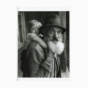 Grandfather with Child, Germany, 1935