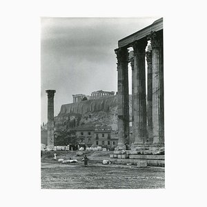 Athens Acropolis Temple of Zeus, 1955