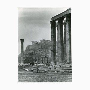 Temple de Zeus Athènes Acropole, 1955