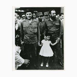 Che Guevara mit seiner Tochter, 1959