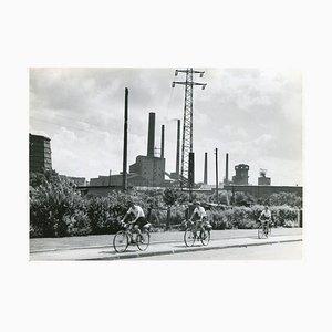 Area della Ruhr Essen, Germania, 1952
